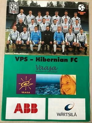 VPS Finland v Hibernian Scotland 2002 Friendly