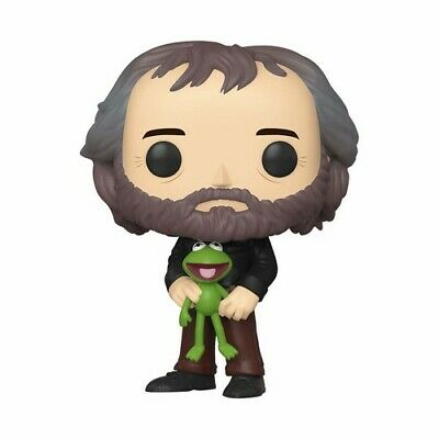Henson - Jim Henson With Kermit The Frog - Funko Pop! Icons: (2019, Toy NEUF)