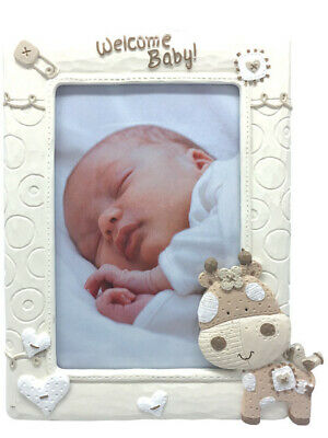 Giraffe Series - Photo Frame Welcome Baby PL6120