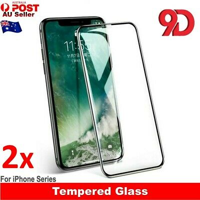 2x Scratch Resist Tempered Glass Screen Protector For Apple iPhone XS Max XR X