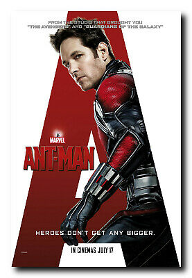 Ant-Man Movie Poster 24x36 Inch Wall Art Portrait Print - Paul Rudd
