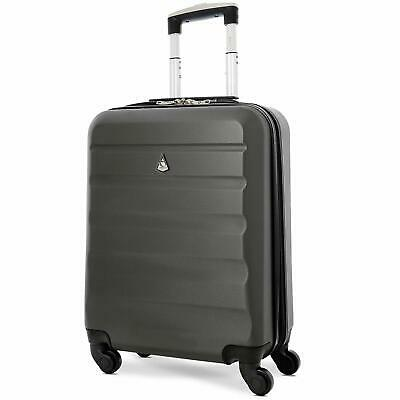 Aerolite Ryanair EasyJet Max Hard Shell Lightweight Suitcase Cabin Luggage Bag