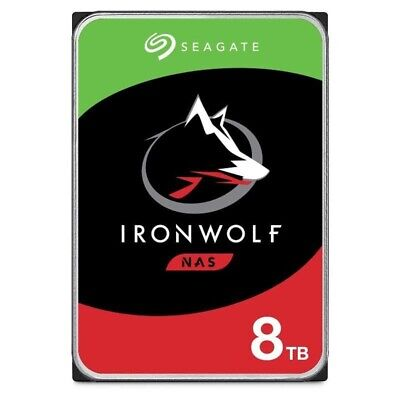 """Seagate 8TB IronWolf 3.5"""" NAS HDD - 10% Off with eBay code """"PONCHO10"""""""