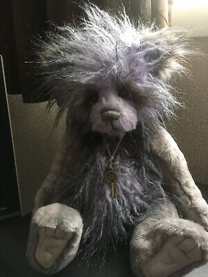 Charlie Bears Kekezza Plush Jointed Bear Retired With Tags