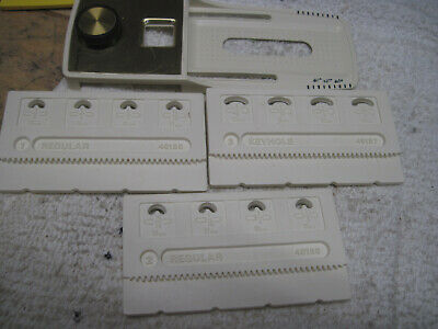 KENMORE Sewing Machine 158.1783080 17830 Buttonhole Templates Button Holer
