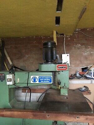 Samco Overhead Pin Router 3 Phase With Bits