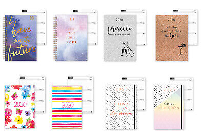 Stylish 2020 Diary Week to View A5 Daily Planner Organiser Gift Hard/Soft Cover