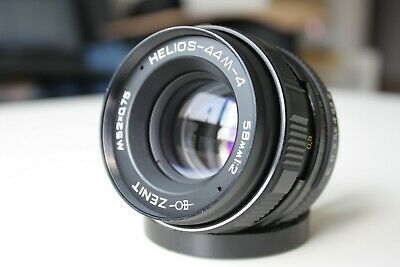 TESTED HELIOS 44M-4 2/58mm Soviet Russian Lens M42 mount