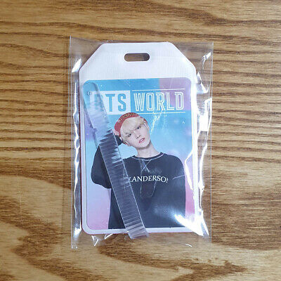 Suga Name Tag Weply Official MD BTS World Album Pre Order Benefit Kpop