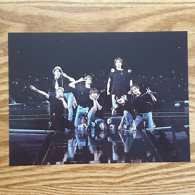 Official Postcard BTS Love Yourself World Tour New York Blu-ray Genuine