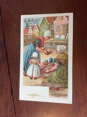 Postcard Private Mailing Card Bensdorp's Royal Dutch Cocoa