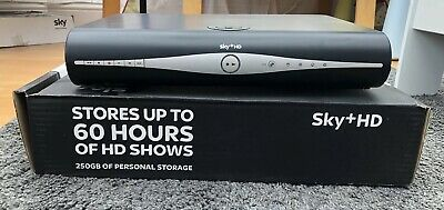 Sky+ Plus HD Box 250gb with Box, Remote, Power Cable and WiFi Connector