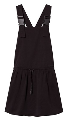 NEW DKNY Kids - Black Dungaree Buckle Dress Tagged - Girls - Age 14
