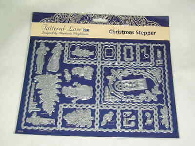 Tattered Lace Cutting Dies - Christmas Stepper (28 Dies) (B)