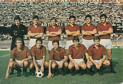 Calcio/Football Cartolina sq. TORINO 1970-'71 con Castellini, Pulici originale