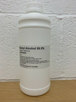 Benzyl Alcohol 99.9% USP,Ph Eur,BP,ACS 1Lt