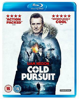 Cold Pursuit - Liam Neeson Blu-ray and Slipcase New and Sealed