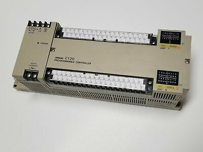 Omron 3G2C4-SI / C120-SI 100-120VAC PLC Programmable Controller