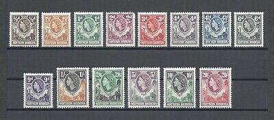 NORTHERN RHODESIA 1953 SG 61/74 MNH Cat £85