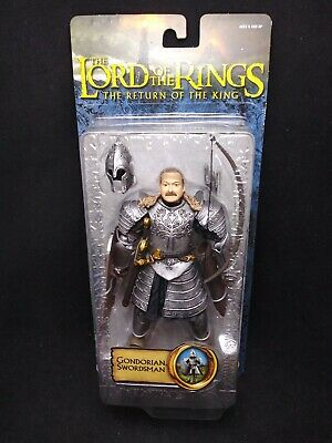"Toybiz 2005 The Lord Of The Rings ROTK 6"" Gondorian Swordsman Action Figure"
