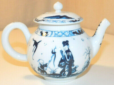 Miniature Teapot, V&A Collection by Franklin Mint, 1985, 'Worcester'