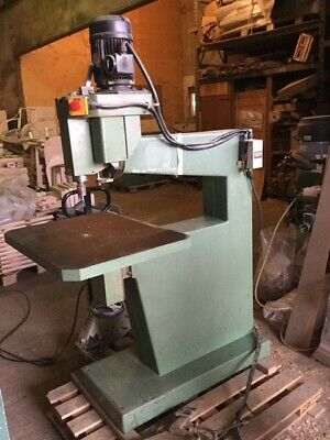 Used Samco o/head pin router