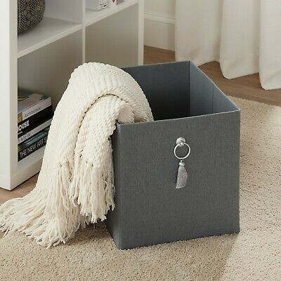 2/4-PACK COLLAPSIBLE FABRIC Cube Storage Bins (12 75