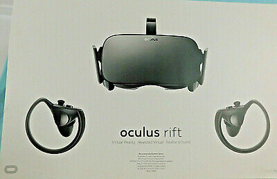 Oculus Rift + Touch Virtual Reality System Headset with Touch Controllers