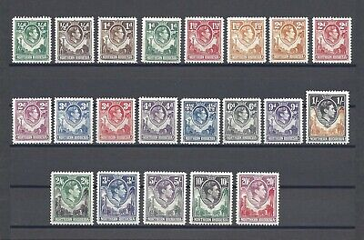 NORTHERN RHODESIA 1938-52 SG 25/45 MINT Cat £250