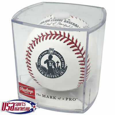 Ken Griffey Jr. Mariners Rawlings Hall of Fame Retirement Baseball - Cubed