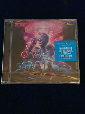 Muse Simulation Theory Cd New And Sealed
