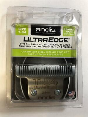 "NEW Andis UltraEdge Flat Top Size T-84 2.4mm 3/32"" Blade 21641"