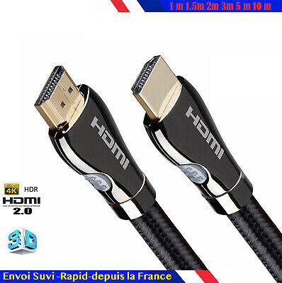 hdmi 2.0 4K 60Hz Cable ultra HD 2160p 3D Full HD HDTV HDR 18GB 1 2 5 10 m