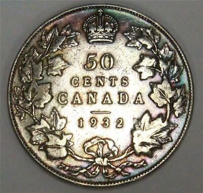 1932 Canada 50 cents VG10