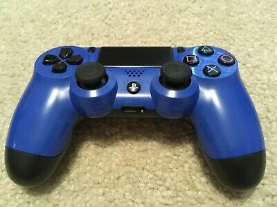 Sony Dualshock 4 Wireless Controller PS4 PlayStation 4 Blue CUH-ZCT2U 2nd Gen