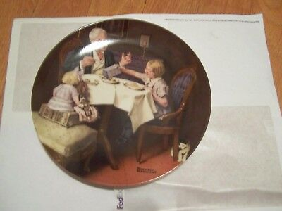 The Gourmet The Edwin M Knowles China Co. Rockwell Heritage Collection