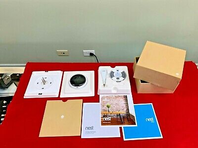 Nest 3rd Generation White Learning Thermostat - New Open Box! A0013