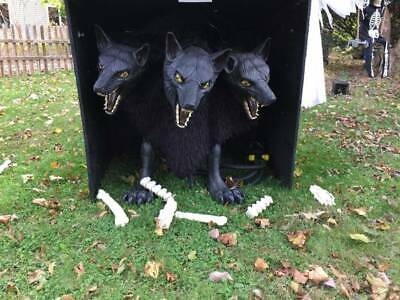 3 Headed Dog Halloween Prop - Cerberus - Pickup Only