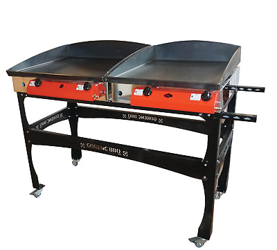 Lpg-Griddle-Hot-Plate-Barbecue-120x60 cm XLarge-Gasgrill