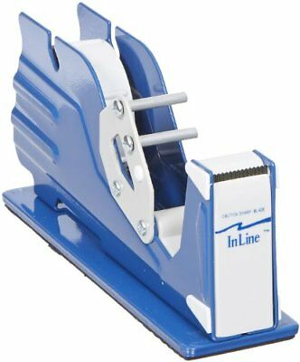 "In Line Commercial Industrial 1"" Packing Tape Dispenser Heavy Duty Desktop"