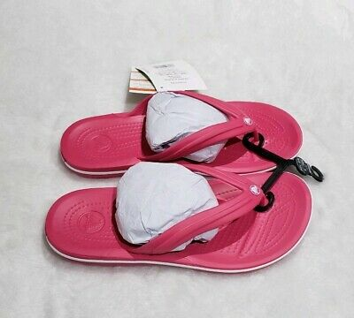 Womens crocs sandals size 8 New with tags. Pink/white