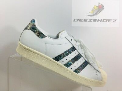 Size Originals Superstar Leather Shoes Snakeskin Adidas Us 80s Men's 9HEID2