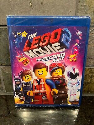 The Lego Movie 2 The Second Part Blu-Ray + DVD + Digital Brand NEW Fast Shiping