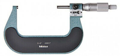Mitutoyo 193-214 Digital Outside Micrometre with Mechanical Counter, 3'-4' Range