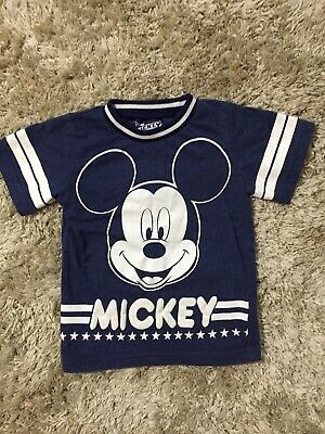 Mickey and the Roadster Racers boys size 3T short sleeve Mickey Mouse shirt