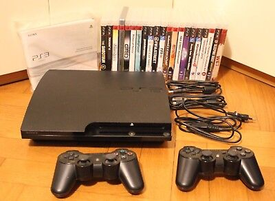 Playstation 3 (Ps3) Slim 320Gb + Dualshock 3 + 21 Giochi Nuovi Sigillati E Usati