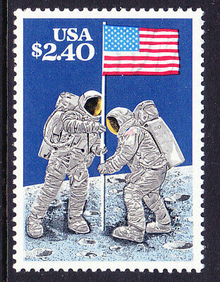 Scott 2419 Astronauts Planting Flag on Moon  Priority Mail   MNH - single stamp