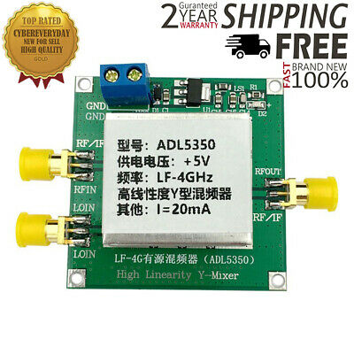 ADL5350 MODULE LOW Frequency 10Mhz-4GHz high-linearity Mixer