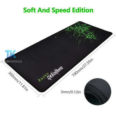 New for Razer Goliathus Speed Edition Gaming Game Mouse Mat Pad Medium Large
