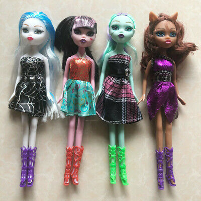 4Pcs/Lot Hot Selling Monster Toys Dolls High Quality Toy For Girls Classic Toys
